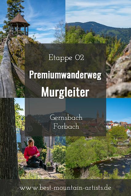 Premiumwanderweg Murgleiter | Etappe 2 von Gernsbach nach Forbach | Wandern nördlicher Schwarzwald 23