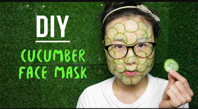 DIY : Cucumber Home Mask  Recipe At Home