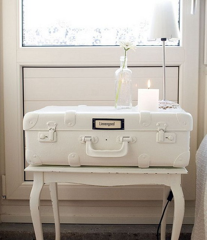 Great And Creative Ideas For Decorating With Old Suitcases 3