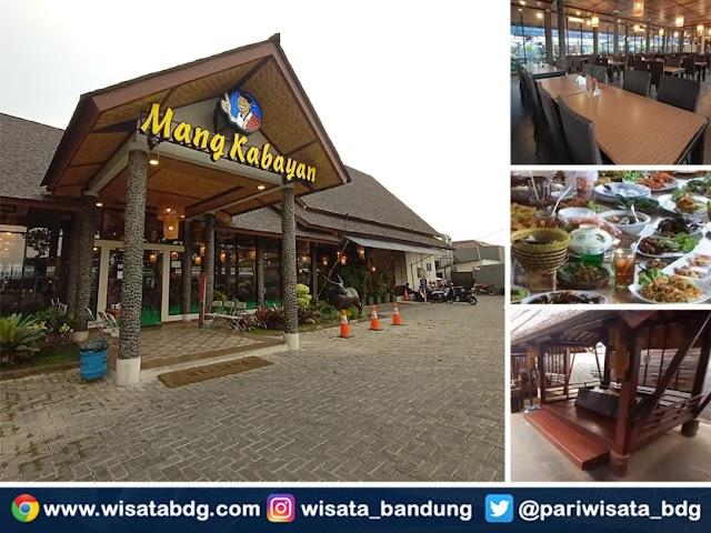 Rumah Makan Mang Kabayan, Tempat Kuliner Nyaman di Dekat Buah Batu
