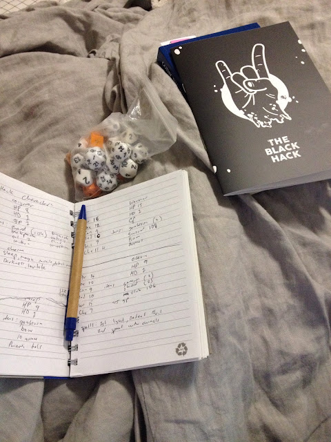 The Black Hack Playtest – Fiendish Almanac Blog