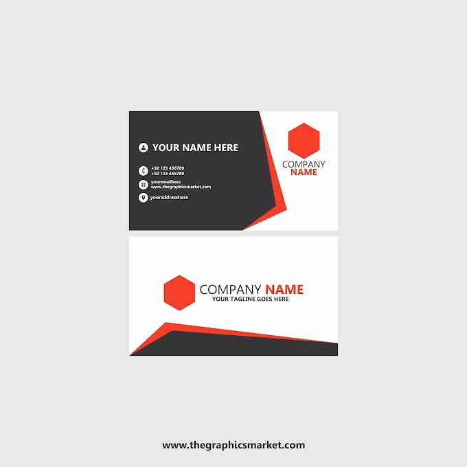 Company Business Card Template | Free Download