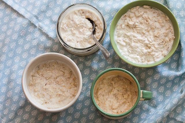 Ovsene pahuljice sa jogurtom, Bircher musli