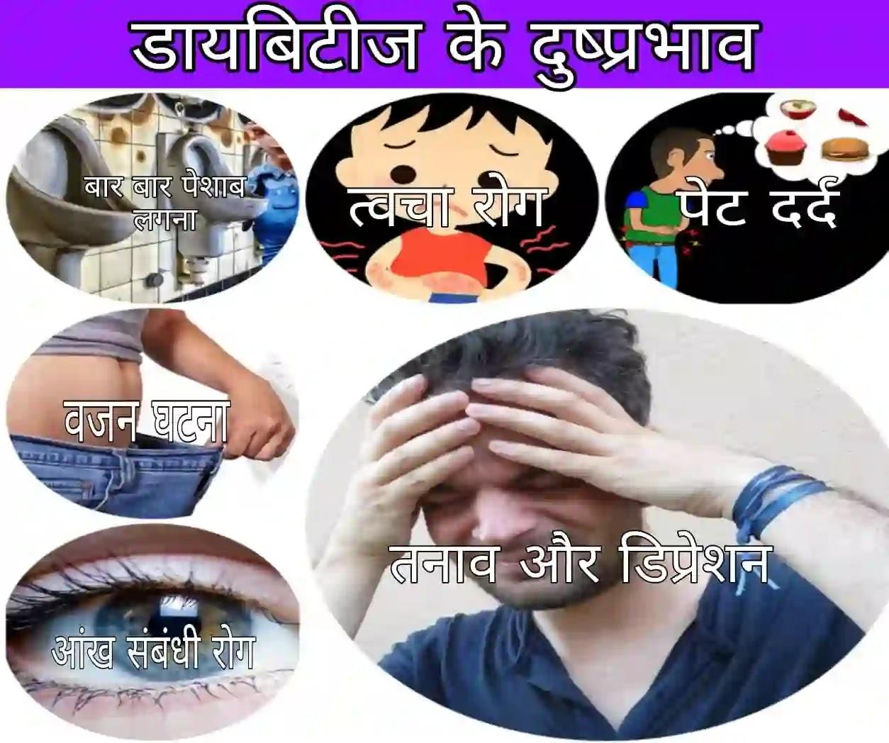 Diabetes के लक्षण