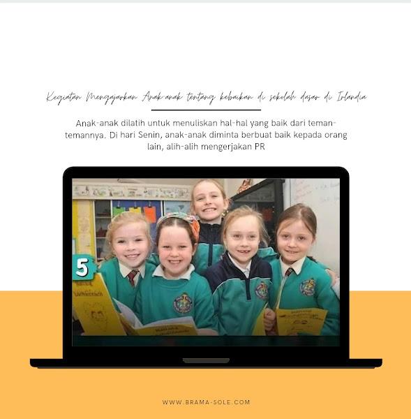 Kegiatan di sekolah dasar di Irlandia
