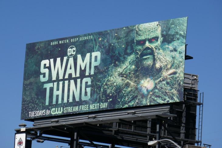DC Swamp Thing season 1 billboard