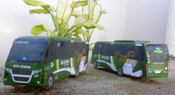 Em Miniaturas entrega Duas unidades do Volare WL à Natal Locadora