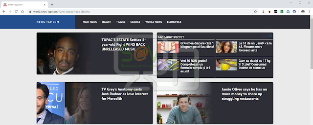 World.news-tap.com pop-ups