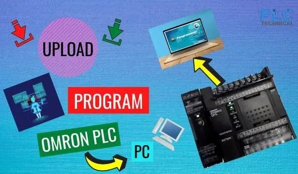 UPLOAD PROGRAM OMRON PLC TO PC VIA CX-PROGRAMMER