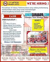Lowongan Kerja Surabaya di CV. Meteor Panen Arto Juni 2020
