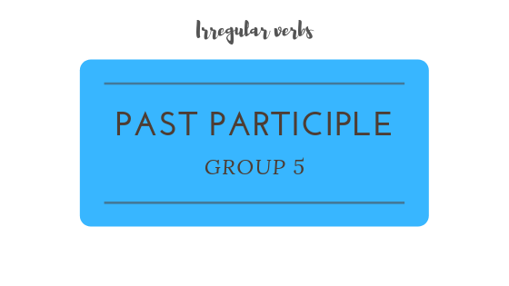 Past Participle practice