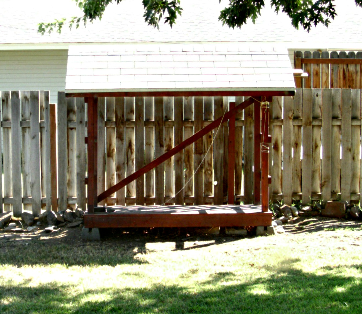 It Was In My Way In The Location Where It Sat So My Dad And I Moved It Last  Year! I Called It The Great Pergola Move!
