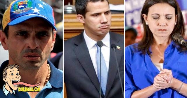 Guaidó hará un pacto con Henrique Capriles y María Corina Machado