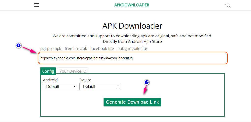 شرح موقع Apkdownloader لتحميل APK برابط مباشر من جوجل بلاي