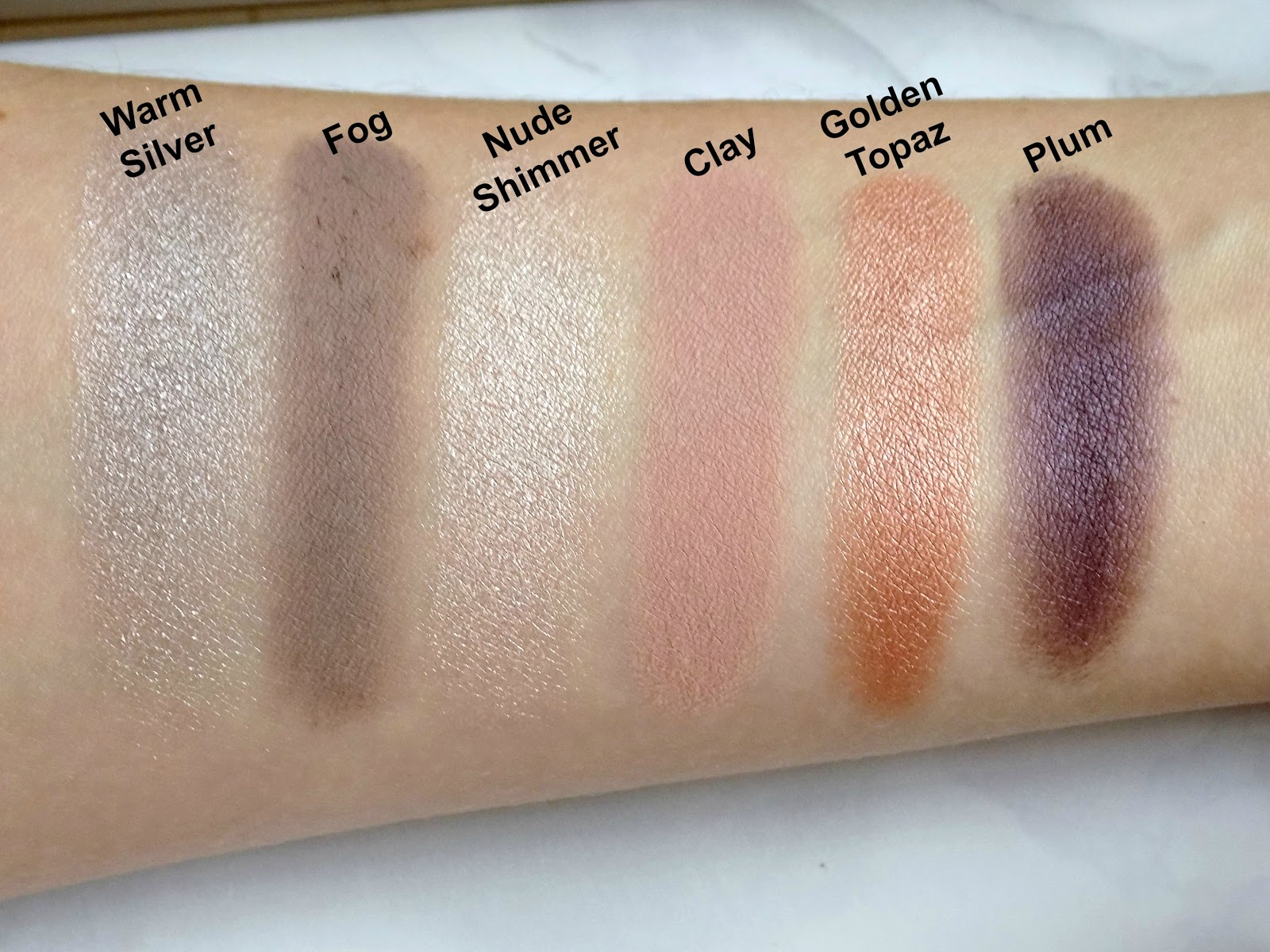Stila 'Trust in Love' set swatches