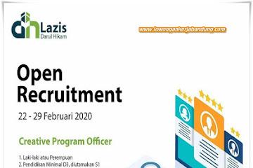 Lowongan Kerja Bandung Creative Program Officer Lazis Darul Hikam