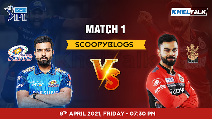 MI vs RCB :- Live Update and Live Score 11 Play list and More