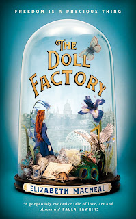The Doll Factory by Elizabeth Macneal book cover