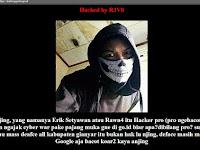 Tak Trima situs daerah nya di retas hacker hacker ini pun memulai perang darah antara para peretas indonesia