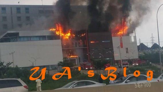 Fire razes building of Kaduna state electoral body