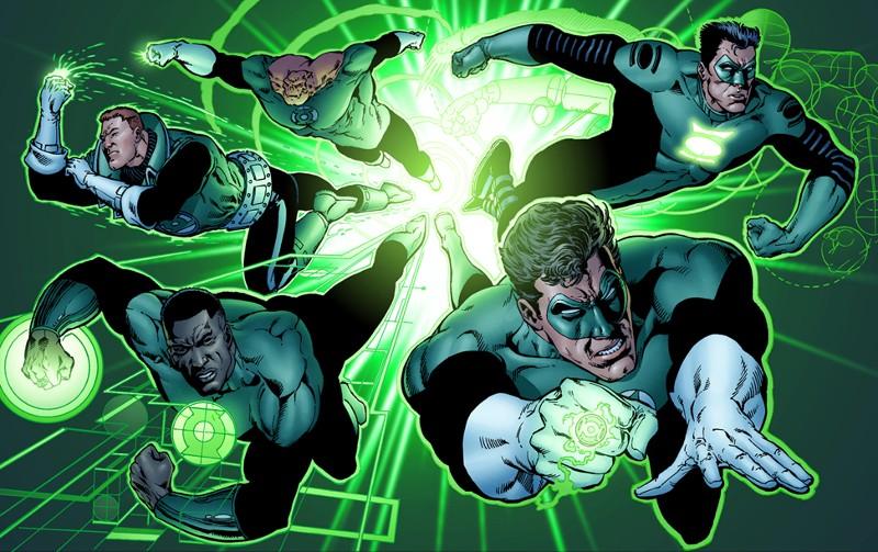 Human Green Lanterns