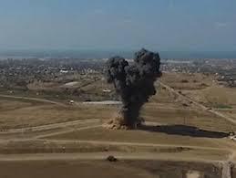 اصابة اربعة جنود اسرائيليين بجروح في انفجار عبوة ناسفة في قطاع غزة