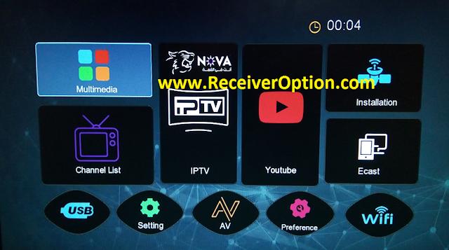 NOVA 1506TV 512M 4M NEW SOFTWARE WITH FACEBOOK LIVE & ONLINE VIDEO OPTION