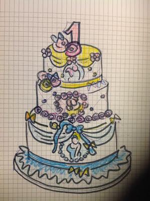 torta con le principesse per un primo compleanno