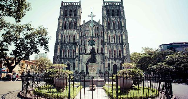 nhà thờ Công Giáo nổi tiếng ở Việt Nam