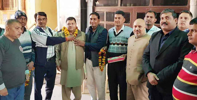 Neeraj Sharma got the joint convenor of All India Farmer Front