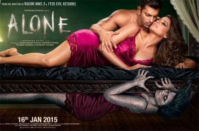 Alone (2015) Hindi 480p Full Movies Free Download HD 400MB BluRay