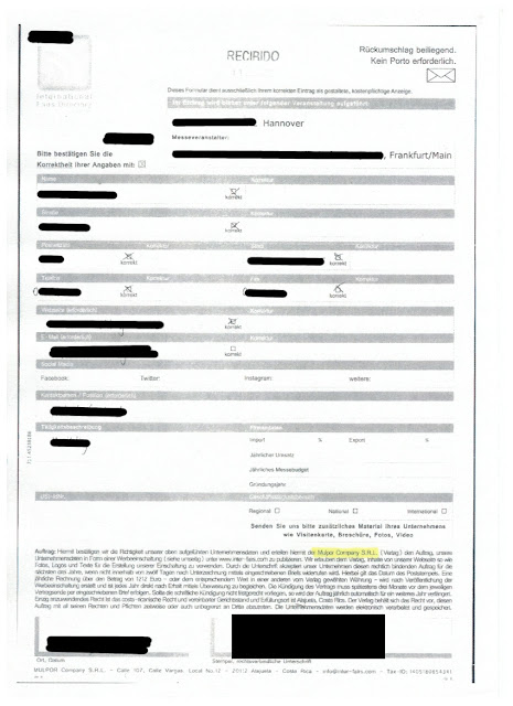 Scan: Mulpor Company S.R.L. Offerte / Sep 2018