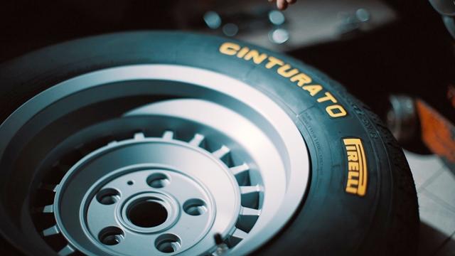 Dos arquivos à pista, o Cinturato CN12 renasce após 50 anos