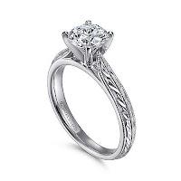 Engagement-rings-vintage-platinum-ring-ideas-KMich Weddings and Events-Philadelphia