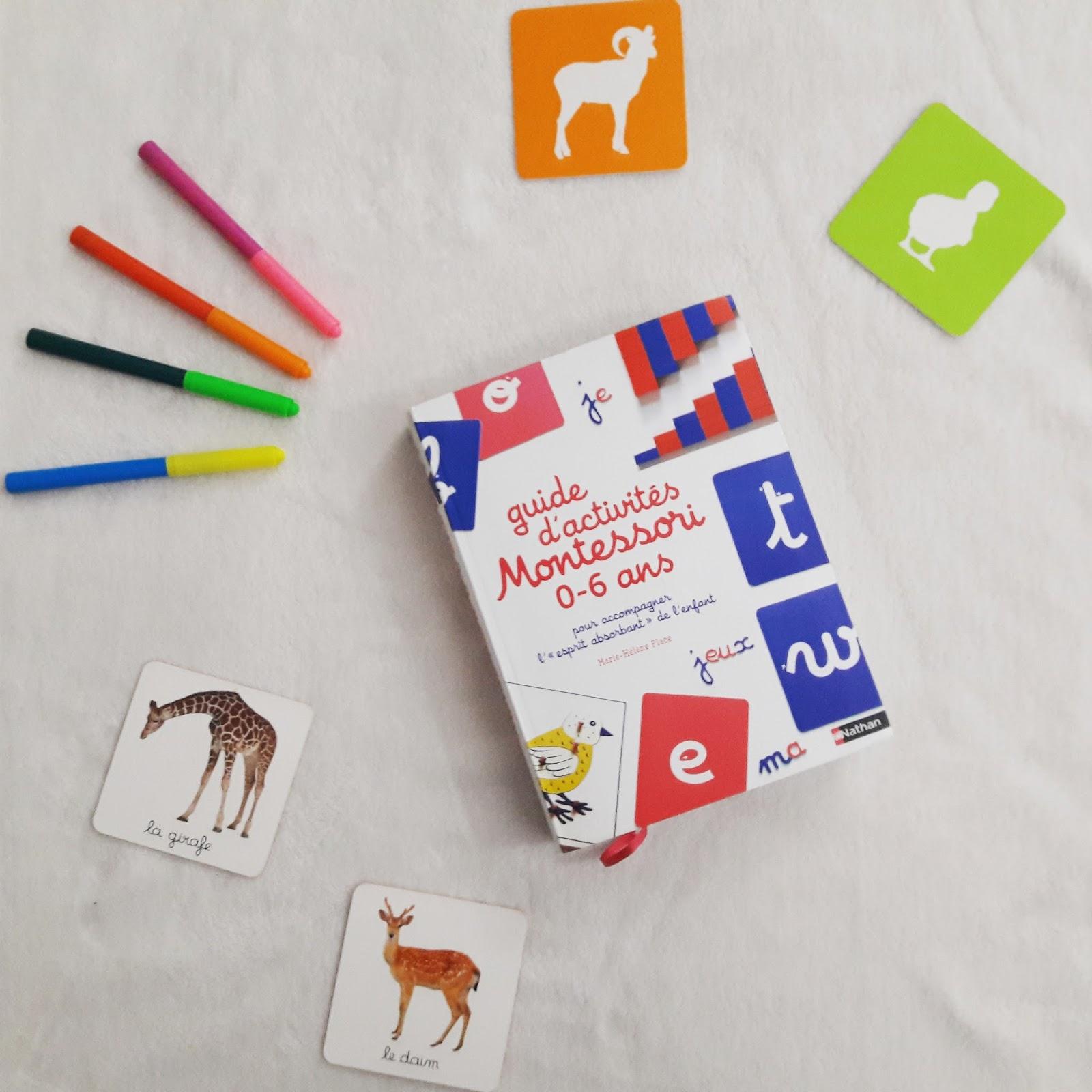 Guide d'activités Montessori 0-6 ans de Marie-Hélène Place