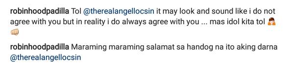 "Angel Locsin greets Robin Padilla on his birthday; calls her ""Aking Darna"""