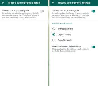 Impronta WhatsApp