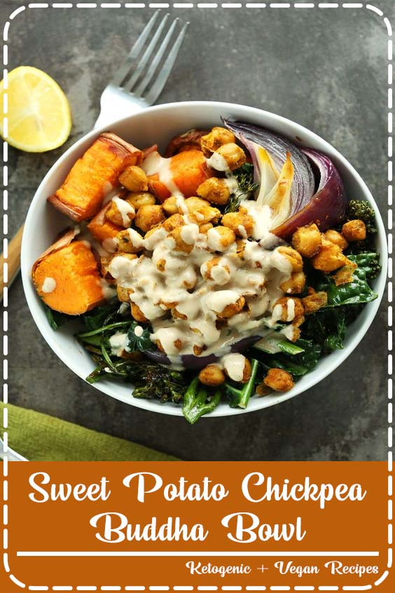 minute CHICKPEA Sweet Potato BUDDHA Bowls Sweet Potato Chickpea Buddha Bowl