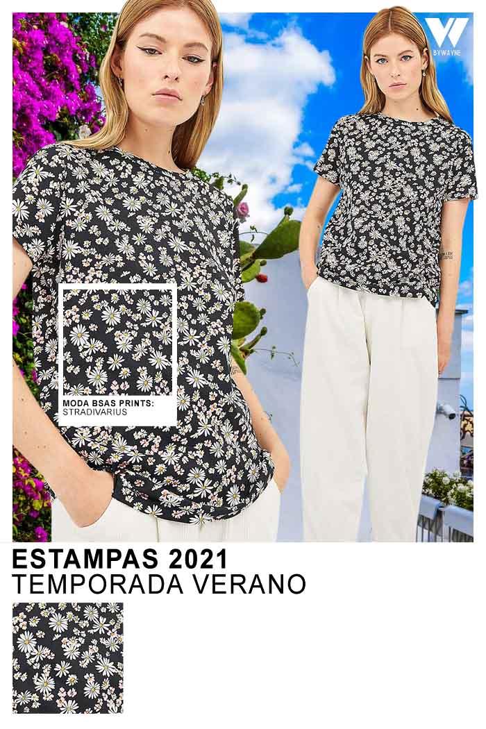 Remeras estampadas primavera verano 2021 moda