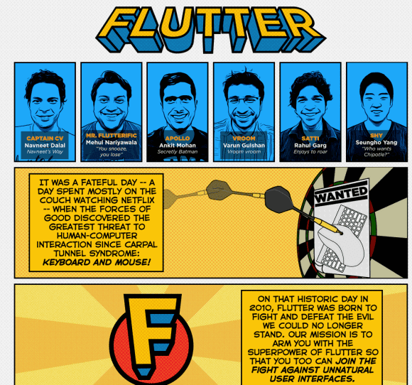 Google Buys Flutter, Gesture Recognition App