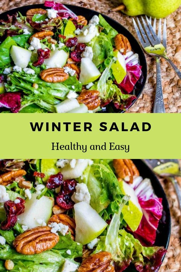 WINTER SALAD #sald #healthy