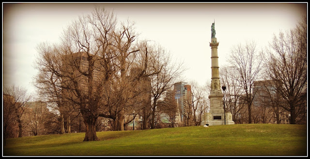 Soldiers and Sailors Monument en el Boston Common