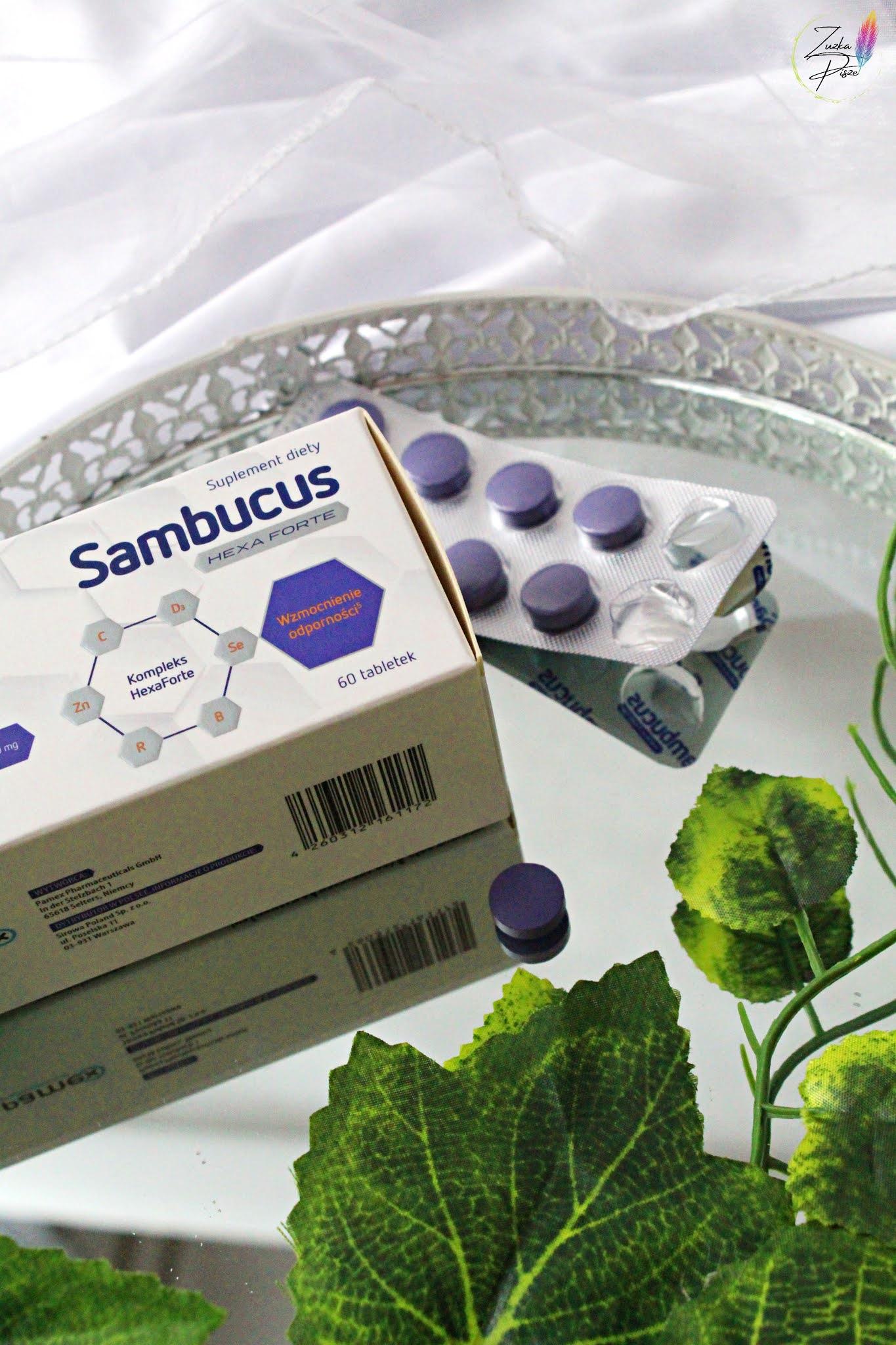 Suplement diety Sambucus Hexa Forte