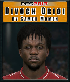 PES 2017 Faces Divock Origi by Sameh Momen