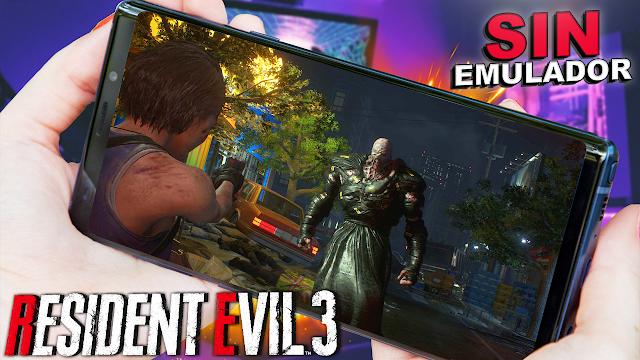 Resident Evil 3 Sin Emulador Para Teléfonos Android (Apk)