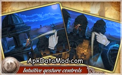 Prince of Persia Shadow Flame Custom Gesture Apk