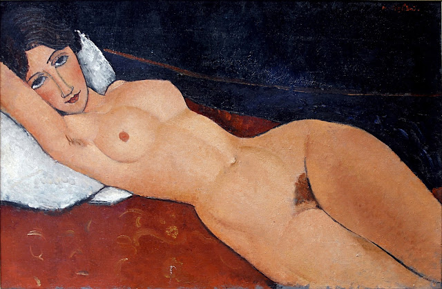 Amedeo Modigliani - nudo disteso