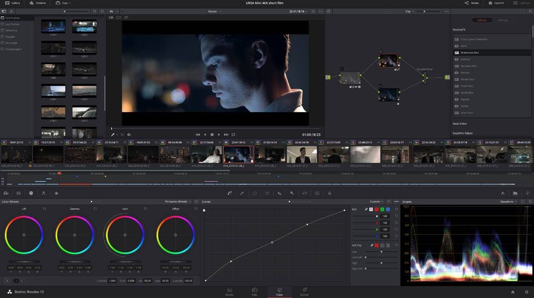 تحميل برنامج تحرير فيديو احترافيًا DaVinci Resolve Studio 16.2.2.11 نسخة كاملة