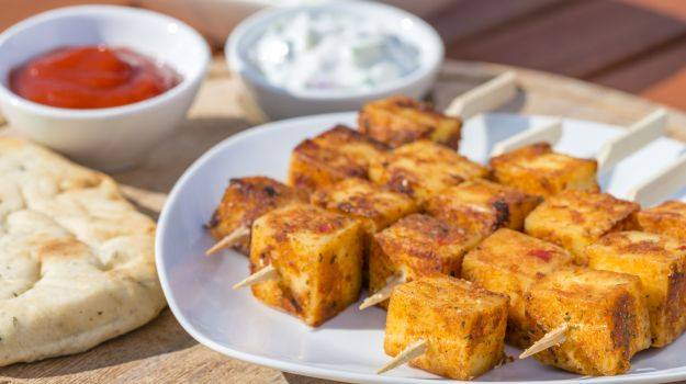 Microwave Paneer Tikka  Apna Food Tv