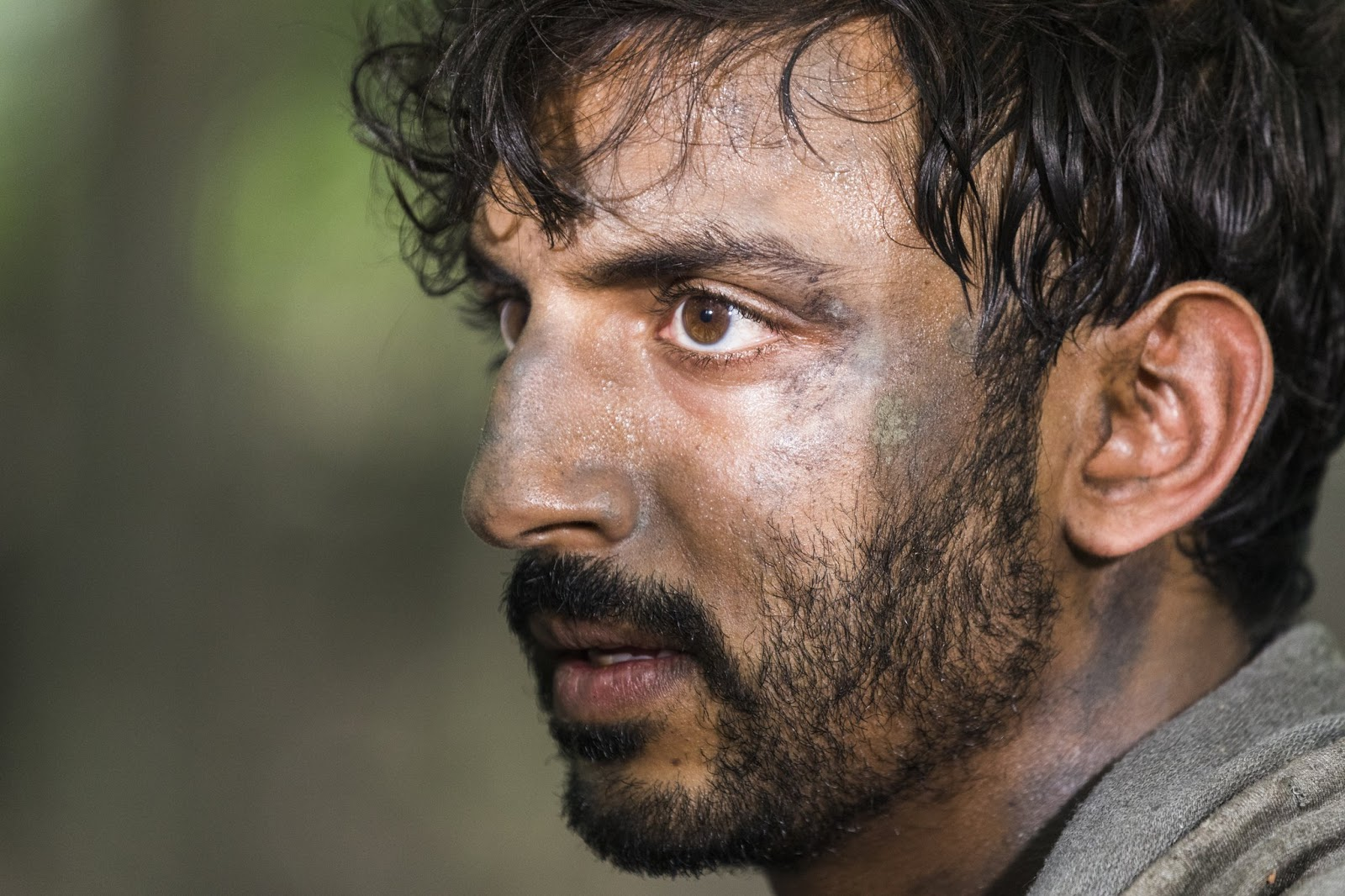 Siddiq en la octava temporada de The Walking Dead